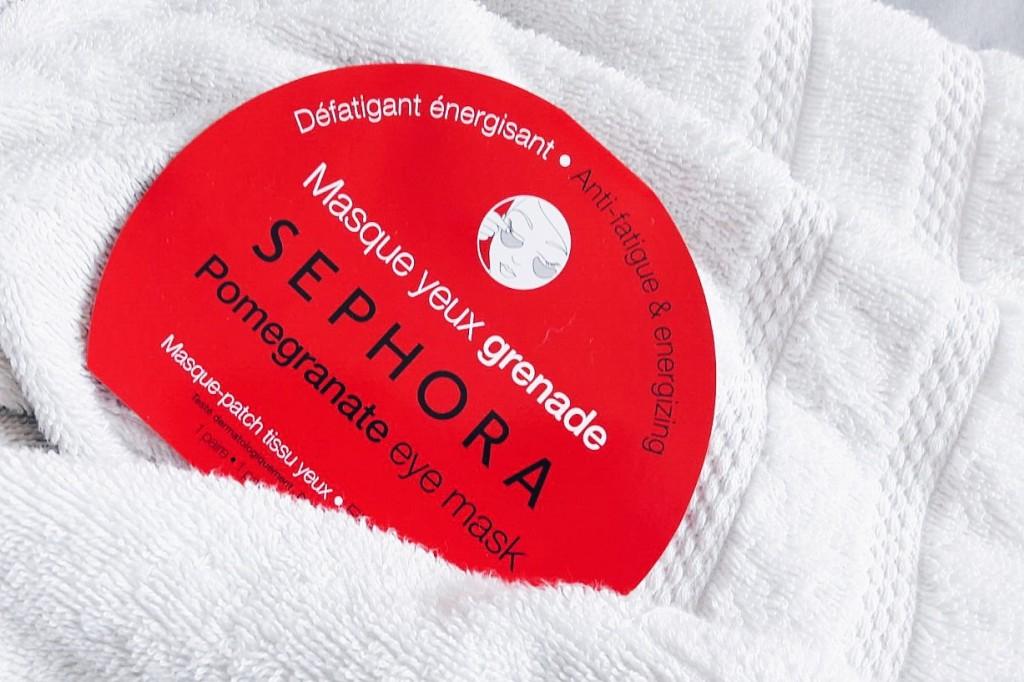 Sephora e la maschera patch rigenerante