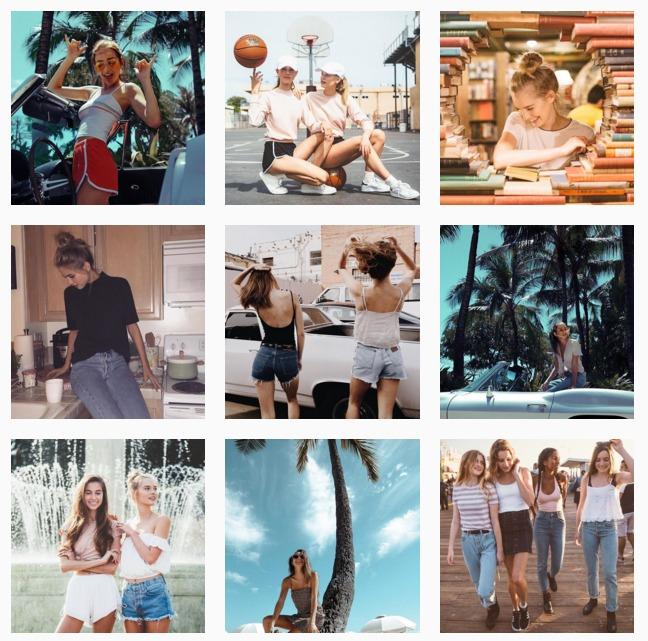 7 Fashion Brand da seguire su Instagram - Brandy Melville
