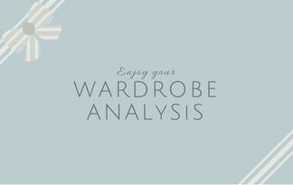 Enjoy Your Wardrobe Analysis - Lisa Campolunghi Personal Shopper & Image Consultant