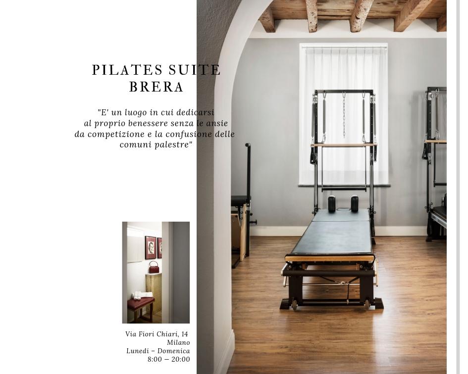 Pilates Studio Milano - Lisa Campolunghi