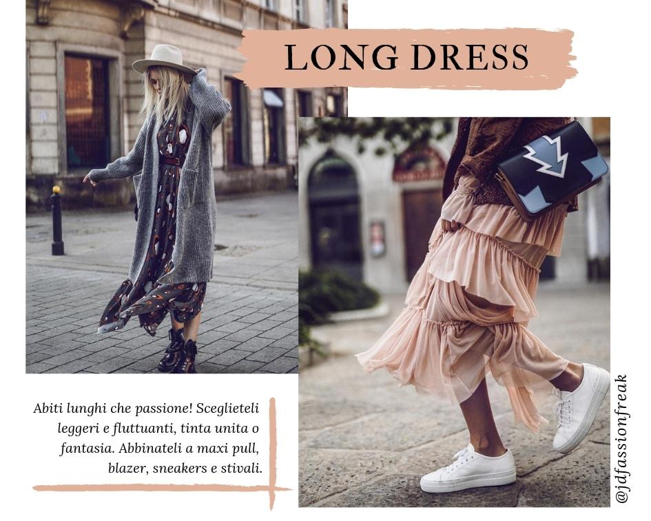 Saldi Inverno 2019 - Long Dress