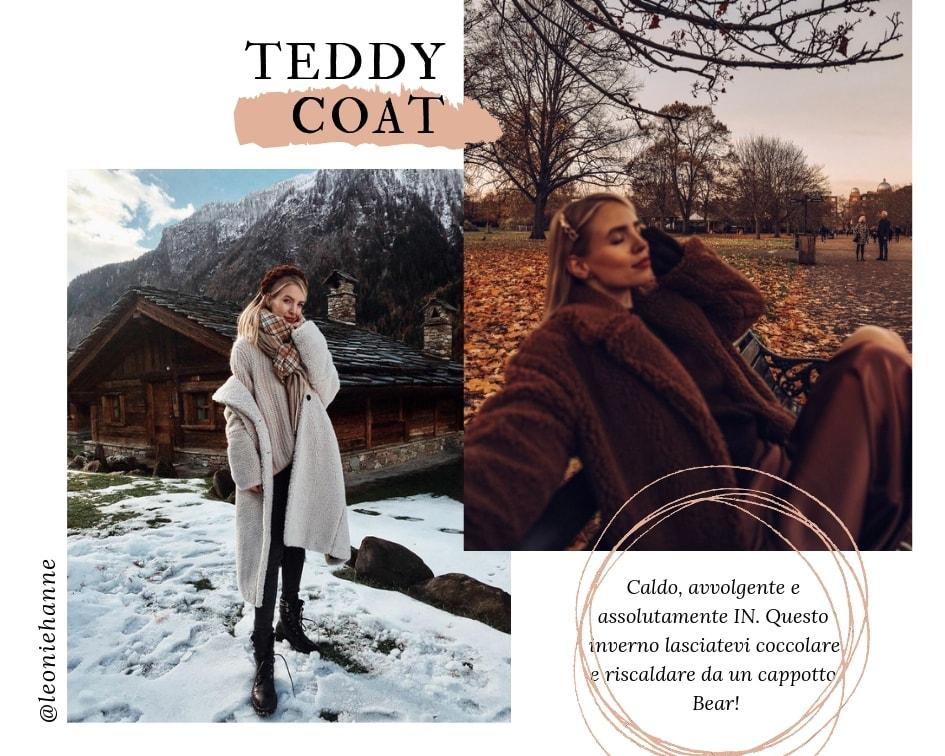 Saldi Inverno 2019 - Teddy Coat