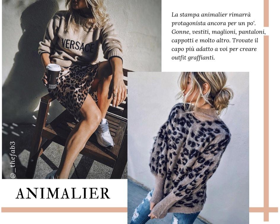 Saldi Inverno 2019 - Animalier