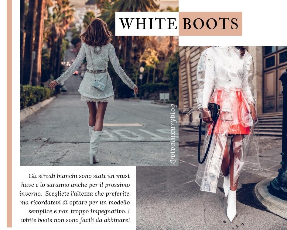 Saldi Inverno 2019 - White Boots