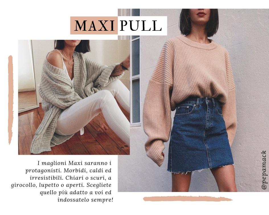 Saldi Inverno 2019 - Maxi Pull