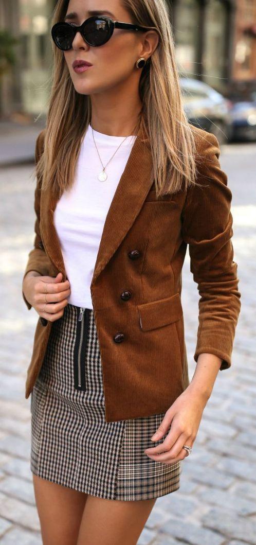Giacca in camoscio marrone