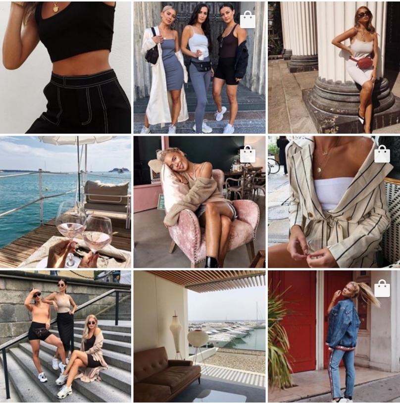 Shopping su Instagram