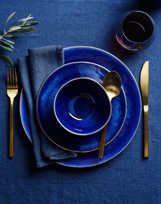 Classic Blue a tavola
